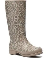 Wellie Leopard Print par Crocs