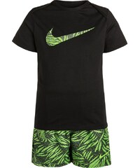 Nike Performance SET TShirt print black/action green