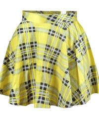 LM moda Sukně letní mini kostky DL89-1