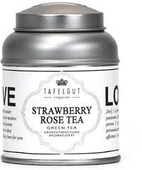 TAFELGUT Zelený čaj Strawberry rose tea - mini 25gr