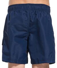 SUNDEK mid length swim shorts with writing