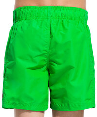 SUNDEK mid length swim shorts with writing