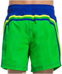 SUNDEK mid length swim shorts with band