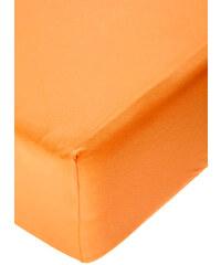 Polášek Jersey prostěradlo s elastanem pomerančové Rozměr: 60x120 cm