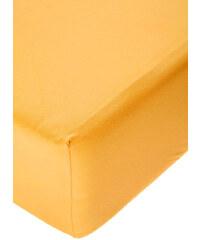Polášek Jersey prostěradlo s elastanem sytě žluté Rozměr: 60x120 cm