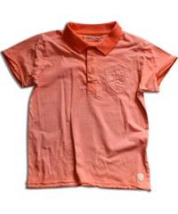 Minoti Chlapecké polo tričko SANTA 8 - oranžové