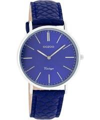 Oozoo Vintage Damenuhr Blau C7377