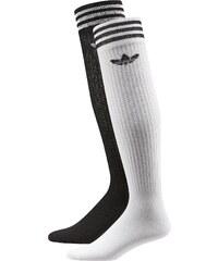 adidas Solid Knee Socken white/black