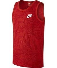 Červené pánské tílko Nike Summer Knt Tnk-Slstce 728693-696