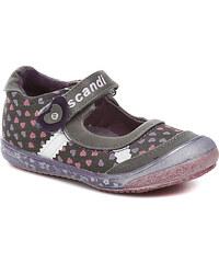 Dětská obuv Scandi 42-0221-T1 fialové dívčí baleríny