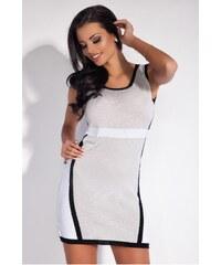 Dámské šaty Fobya F187 šedé 7a21bfae47