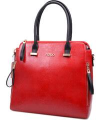 Nobo - Luxusní dámská kabelka se zlatými prvky NBAG-0590-C005 / červená