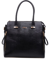 Nobo - Luxusní dámská kabelka se zlatými prvky NBAG-0590-C020 / černá