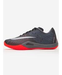 Nike Hyperlive Black Metallic Silver Dark Grey Bright Crimson