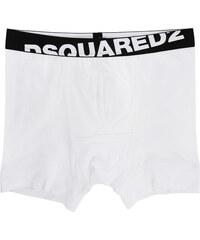 DSQUARED2 UNDERWEAR Boxershorts aus Baumwolle 760 Weiß