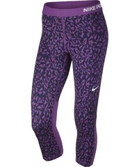 Nike PRO COOL CAPRI FACET fialová XS