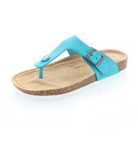 United Fashion Tyrkysové pantofle Regan