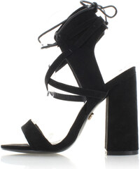 United Fashion Černé sandály Janny