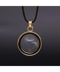 Lesara Halskette mit Pusteblumen-Medaillon