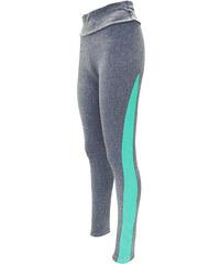 Lesara Leggings mit Farbstreifen - Blau - L-XL