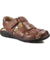 Sandály CESARE CAVE - MI18-ROUTER-02 Hnědá