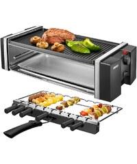 Unold Grill 58515, mit Drehspießen für Kebab, antihaftbeschichtet, 1200 Watt