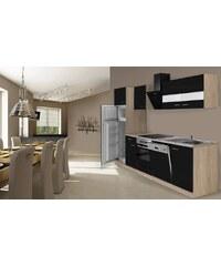RESPEKTA Küchenzeile mit E-Geräten »Hamburg«, Breite 280 cm