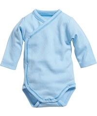 Schnizler Baby - Jungen Body Wickelbody Langarm, Oeko Tex Standard 100
