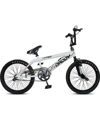 Rooster BMX, 20 Zoll, weiß, V-Brakes, »Big Daddy Spoked«