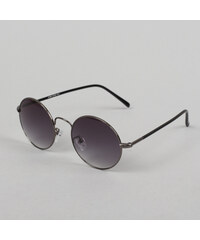 MD Sunglasses Flower stříbrné / šedé