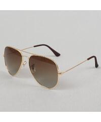 MD Sunglasses PureAv zlaté / hnědé