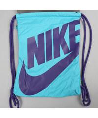 Nike Heritage Gymsack tyrkysový / fialový