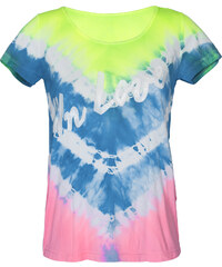 Alto Giro T-shirt Sport Tie And Dye Avec Inscription - Skin Fit Tie Dye