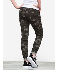 Zoo York Skinny Stretch Cargo Black Camo