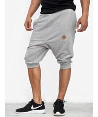 UrbanCity Deep Crotch Jogger Shorts Grey