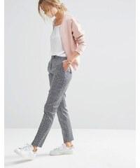 ASOS - Pantalon slim à imprimé motif géométrique - Multi