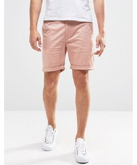 ASOS - Short chino coupe slim - Rose - Rose