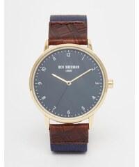 Ben Sherman - Portobello - Montre-bracelet traditionnelle en cuir - Bleu
