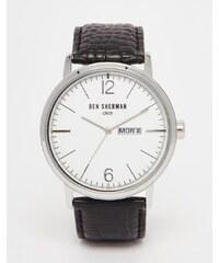 Ben Sherman - Portobello - Montre bracelet en cuir - Noir - Noir
