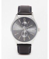 Ben Sherman - Spitalfields - Montre bracelet en vinyle - Noir - Noir