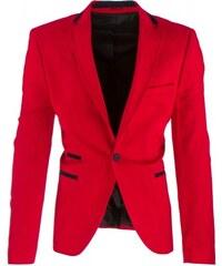 Pánské sako Munna červené - červená