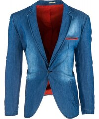 Pánské sako Murkrow modré - modrá