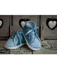 Lola Baby Dívčí capáčky - světle modré