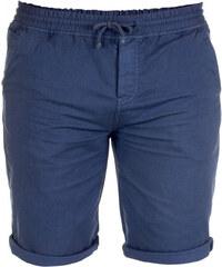 Lesara Bermuda-Shorts mit umgeschlagenem Hosenbein - Blau - L