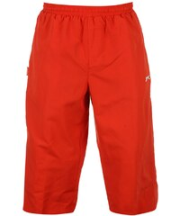 Slazenger Three Quarter Jogging Bottoms pánské Red