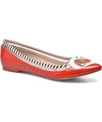 Coca-cola shoes - Heart - Ballerinas für Damen / rot