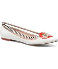 Coca-cola shoes - Heart - Ballerinas für Damen / weiß