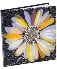 TURNOWSKY - Čtvercový deník, Daily Daisy, 16,5x16,5 cm, 96 listů, bílý papír (41506)
