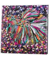 TURNOWSKY - Čtvercový deník, Flower Fish, 16,5x16,5 cm, 96 listů, bílý papír (41274)