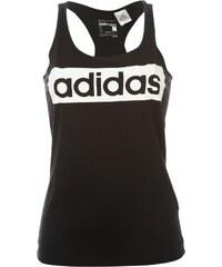 Módní tílko adidas Linear dám. černá/bílá